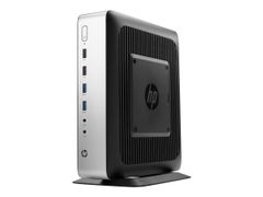 HP t730 - Tynn klient - tower - 1 x R-serie RX427BB / 2.7 GHz - RAM 8 GB - flash 32 GB - Radeon HD 9000 - GigE - Win Embedded Standard 7P 64-bit - monitor: ingen