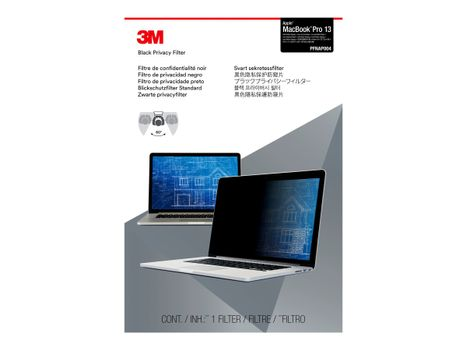 "3M personvernfilter for MacBook Pro with Retina Display (2012-2015) 13.3"" Laptops 16:10 notebookpersonvernsfilter (PFNAP004)"
