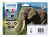 Epson 24XL Multipack - 6-pack - 55.7 ml - XL - svart, gul, cyan, magenta, lys magenta, lys cyan - original - blister - blekkpatron - for Expression Photo XP-55, 750, 760, 850, 860, 950, 960; Expression Prem (C13T24384011)