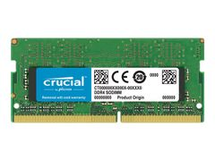 Crucial DDR4 - 8 GB - SO DIMM 260-pin - 2666 MHz / PC4-21300 - CL19 - 1.2 V - ikke-bufret - ikke-ECC