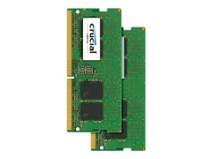 CRUCIAL DDR4 - 8 GB - SO DIMM 260-pin - 2400 MHz / PC4-19200 - CL17 - 1.2 V - ikke-bufret - ikke-ECC