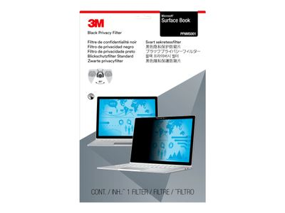 """3M personvernfilter for Microsoft Surface Book - Notebookpersonvernsfilter - 13.5"""" - svart - for Microsoft Surface Book (PFNMS001)"""