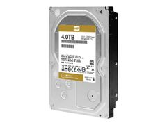 "WD Gold Datacenter Hard Drive WD4002FYYZ - Harddisk - 4 TB - intern - 3.5"" - SATA 6Gb/s - 7200 rpm - buffer: 128 MB"