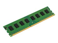 Kingston DDR3 - 8 GB - DIMM 240-pin - 1333 MHz / PC3-10600 - CL9 - 1.5 V - ikke-bufret - ikke-ECC