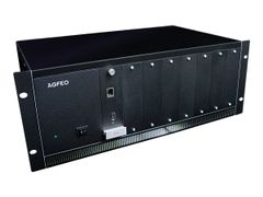 AGFEO ES 770 IT - IP-PBX - 4U - rackmonterbar - 1 x 10/100/1000