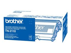 Brother TN-2110 - Svart - original - tonerpatron - for Brother DCP-7030, 7040, 7045, HL-2140, 2150, 2170, MFC-7320, 7440, 7840; Justio DCP-7040