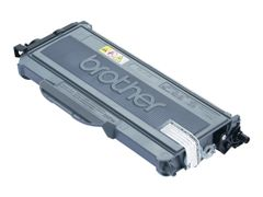 Brother TN2120 - Svart - original - tonerpatron - for Brother DCP-7030, 7040, 7045, HL-2140, 2150, 2170, MFC-7320, 7440, 7840; Justio DCP-7040