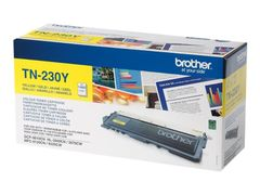 Brother TN230Y - gul - original - tonerpatron