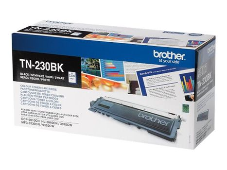Brother TN230BK - svart - original - tonerpatron