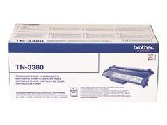 Brother TN3380 - Svart - original - tonerpatron - for Brother DCP-8110, 8150, 8155, 8250, HL-5440, 5450, 5470, 6180, MFC-8510, 8520, 8710, 8950