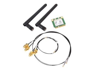 SHUTTLE WLN-P WLAN kit - Nettverksadapter - PCIe Half Mini Card - Bluetooth 4.0, 802.11ac (POZ-WLNP01)