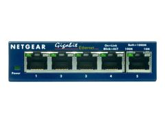 NETGEAR GS105 - Switch - 5 x 10/100/1000 - stasjonær