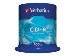 VERBATIM 100 x CD-R - 700 MB (80 min) 52x - spindel