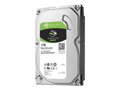 "Seagate Barracuda ST1000DM010 - Harddisk - 1 TB - intern - 3.5"" - SATA 6Gb/s - 7200 rpm - buffer: 64 MB (ST1000DM010)"