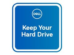 DELL 5 År Keep Your Hard Drive - utvidet serviceavtale - 5 år