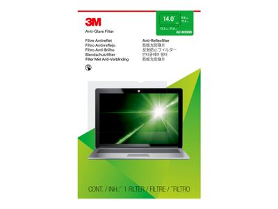 "3M Anti-Glare-filter for bærbar datamaskin med 14"" widescreen - Blendfri filter for notebook - 14"" bredde - blank (AG140W9B)"
