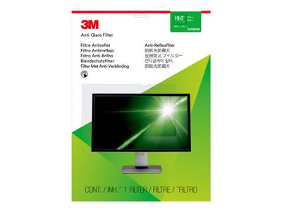 "3M Anti-Glare-filter for 19"" standardskjerm - Antirefleksfilter for skjerm - 19"" - blank (AG190C4B)"