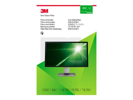 "3M Anti-Glare-filter for 23"" widescreen - antirefleksfilter for skjerm - 23"" bredde (AG230W9B)"