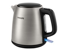 Philips Daily Collection HD9348 - Kjele - 1 liter - 2000 W - rustfritt stål