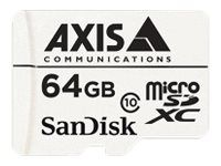 AXIS Surveillance - flashminnekort - 64 GB - microSDXC