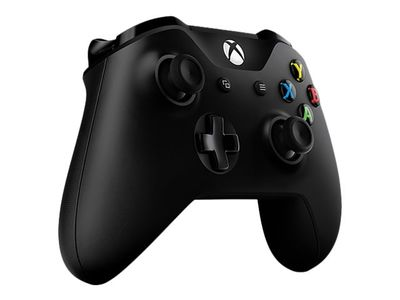 Microsoft Xbox Wireless Controller - Håndkonsoll - trådløs - Bluetooth - svart - for PC, Microsoft Xbox One, Microsoft Xbox One S (6CL-00002)
