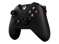 Microsoft Xbox Wireless Controller - Håndkonsoll - trådløs - Bluetooth - svart - for PC, Microsoft Xbox One, Microsoft Xbox One S