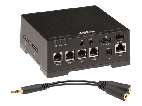 AXIS F44 Dual Audio Input Main Unit - Video server (0936-001)