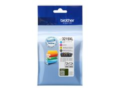 Brother LC3219XL Value Pack - 4-pack - XL - svart, gul, cyan, magenta - original - blekkpatron