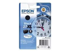 Epson 27XL - 17.7 ml - XL - svart - original - blekkpatron - for WorkForce WF-3620, WF-3640, WF-7110, WF-7210, WF-7610, WF-7620, WF-7710, WF-7715, WF-7720