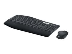 Logitech MK850 Performance - Tastatur- og mussett - Bluetooth, 2.4 GHz - UK-engelsk