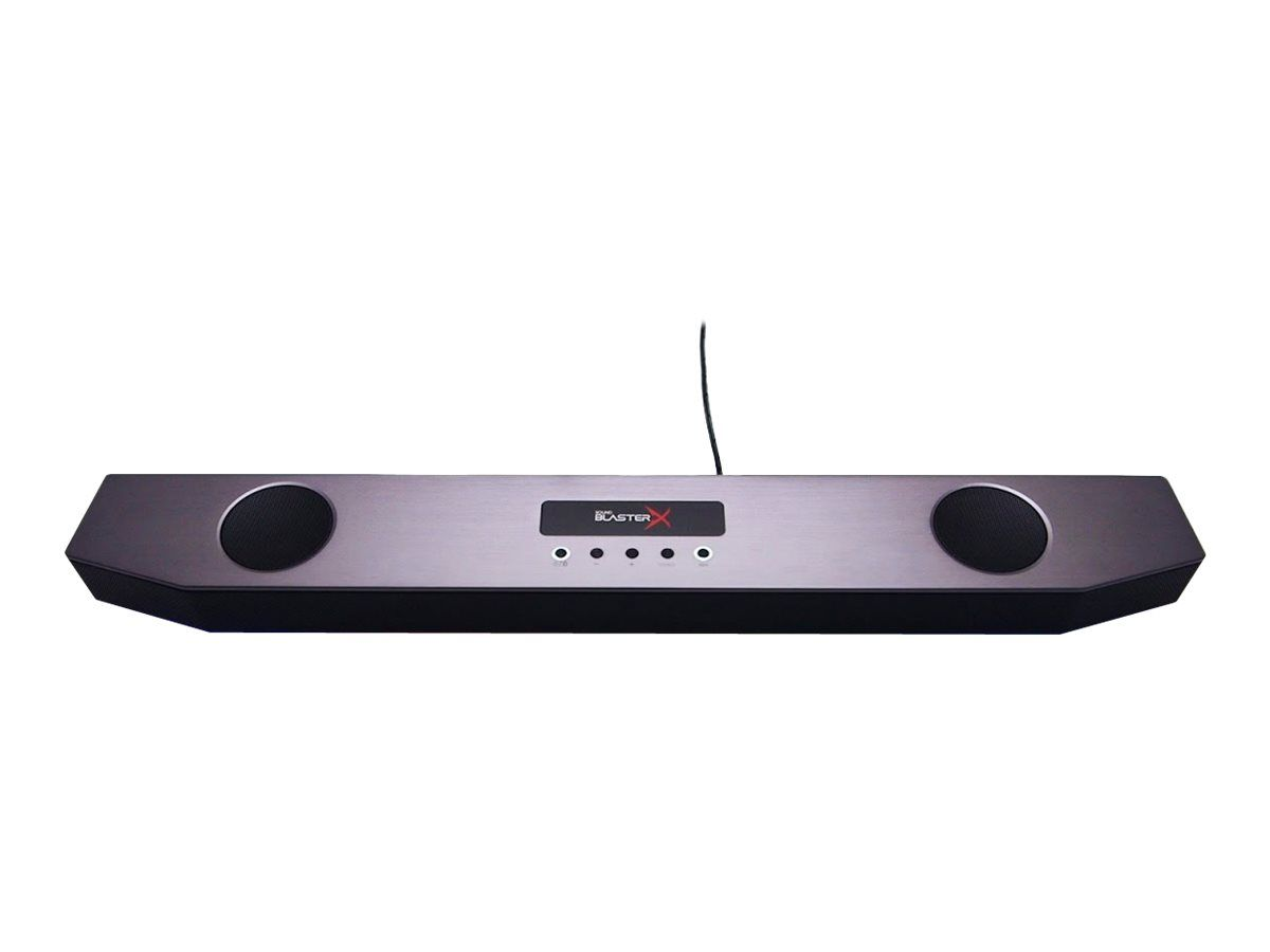 CREATIVE Sound BlasterX Katana - Lydplankesystem - for PC - 2,1 kanaler - trådløs - Bluetooth - 75 watt (Total) (51MF8245AA000)