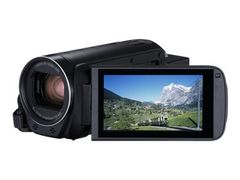 Canon LEGRIA HF R88 - Videoopptaker - 1080 p / 50 fps - 3.28 MP - 32optisk x-zoom - flash 16 GB - flashkort - Wi-Fi, NFC - svart