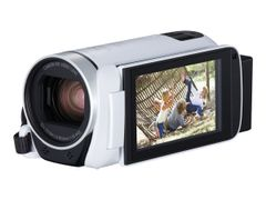 Canon LEGRIA HF R806 - Videoopptaker - 1080 p / 50 fps - 3.28 MP - 32optisk x-zoom - flashkort - hvit