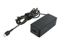 Lenovo 45W Standard AC Adapter (USB Type-C) - Strømadapter - AC 100-240 V - 45 watt - Danmark - CRU - for 14e Chromebook; ThinkPad E490; E59X; P43; P53; T490; T590; X390 Yoga