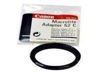 Canon Macrolite 52C - Adapterring for makroblits 52-mm gjenge - for ML-3; MR-14EX; MT-24EX