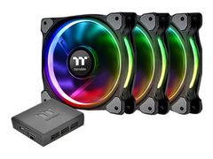 Thermaltake Riing PLUS 12 RGB Fan TT - Premium Edition - systemviftesett - 120 mm