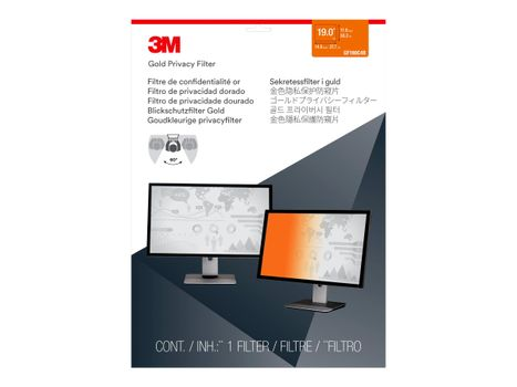 """3M personvernfilter i gull for 19"""" Monitors 5:4 - personvernfilter for skjerm - 19"""" (GF190C4B)"""