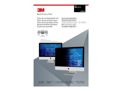 """3M personvernfilter for 21,5"""" Apple iMac - Personvernfilter for skjerm - 21,5"""" bredde - svart - for Apple iMac (21.5 in) (PFMAP001)"""