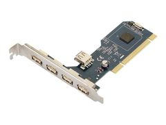 MICROCONNECT USB-adapter - PCI - USB 2.0 x 5