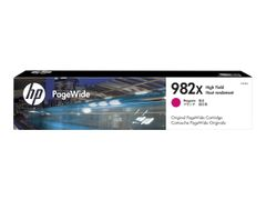 HP 982X - 116.5 ml - Høy ytelse - magenta - original - PageWide - blekkpatron - for PageWide Enterprise Color 765, MFP 780; PageWide Enterprise Color Flow MFP 785