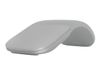 Microsoft Surface Arc Mouse - Mus - optisk - 2 knapper - trådløs - Bluetooth 4.0 - lysegrå - kommersiell (FHD-00003)
