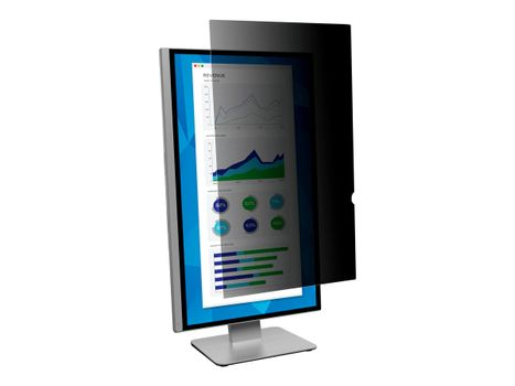 """3M personvernfilter for 25"""" Monitors 16:9 - personvernfilter for skjerm - 25"""" bred (PF250W9P)"""