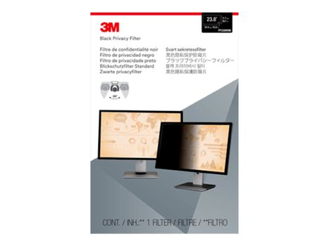 """3M personvernfilter for 28"""" Monitors 16:9 - personvernfilter for skjerm - 28"""" bredde (PF280W9B)"""