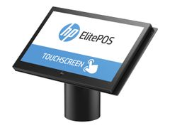 HP ElitePOS G1 Retail System 141 - Alt-i-ett - 1 x Celeron 3965U / 2.2 GHz - RAM 8 GB - SSD 256 GB - TLC - HD Graphics 610 - GigE - WLAN: 802.11b/g/n, Bluetooth 4.0 - Win 10 Pro 64-bit - monitor: LED 14