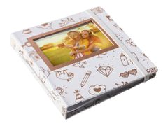 HP Spocket - Album - 64 x 2x3 in (5x6 cm) - hvit, gull x 1