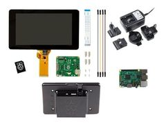 Raspberry Pi Premium Display Kit - DIY-sett - Broadcom BCM2837 1.2 GHz - RAM 1 GB - 7
