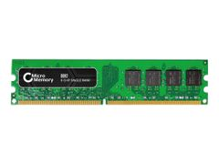 CoreParts DDR2 - 1 GB - DIMM 240-pin - 800 MHz / PC2-6400 - CL6 - 1.8 V - ikke-bufret - ikke-ECC