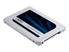"CRUCIAL MX500 - Solid State Drive - kryptert - 1 TB - intern - 2.5"" - SATA 6Gb/s - 256-bit AES - TCG Opal Encryption 2.0"