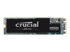 Crucial MX500 - Solid State Drive - kryptert - 1 TB - intern - M.2 2280 - SATA 6Gb/s - 256-bit AES - TCG Opal Encryption 2.0