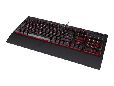 Corsair Gaming K68 Mechanical - Tastatur - bakgrunnsbelyst - USB - Nordisk - nøkkelsvitsj: CHERRY MX Red (CH-9102020-ND)